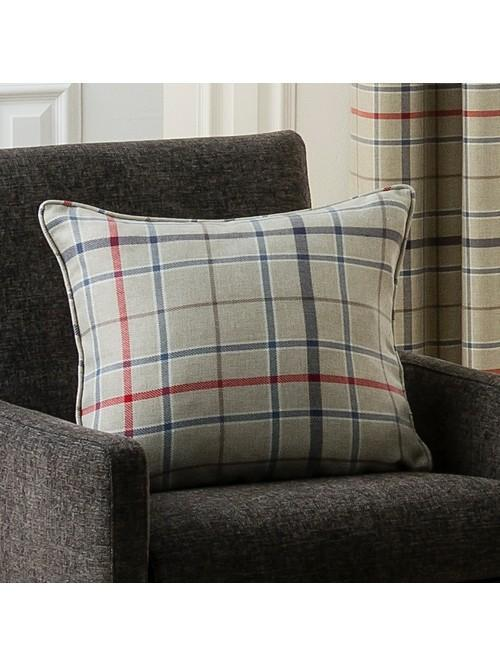 Lewis Check Large Cushion Navy