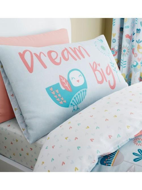 Catherine Lansfield Little Birds Bedding Collection Pastel