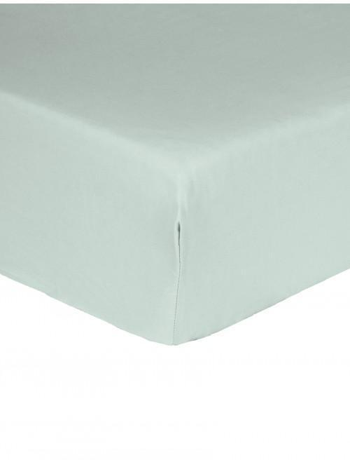 Luxury Percale Extra Deep Fitted Sheet Duck Egg