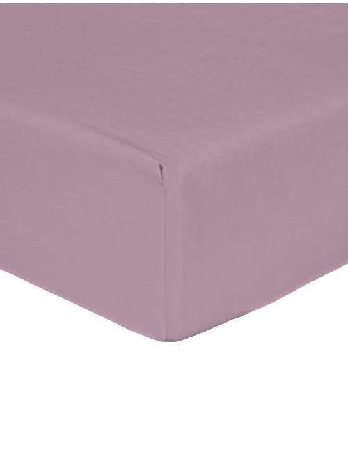 Egyptian 100% Cotton 200 Thread Count Fitted Sheet Mauve