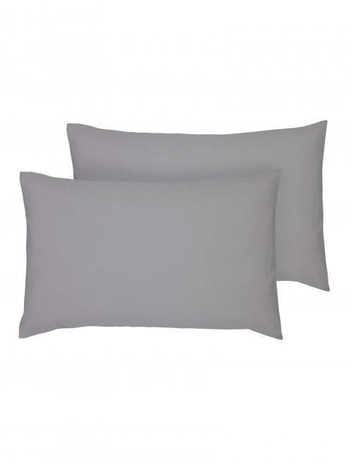 Hotel Gold Collection 300 Thread Count Housewife Pillowcase Pair Grey