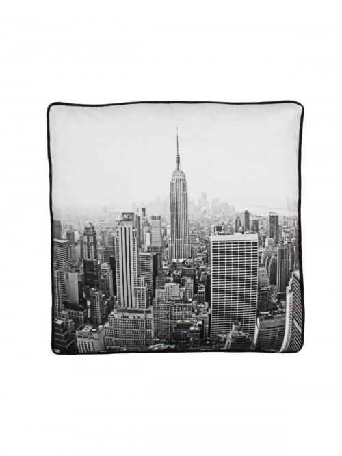 Manhattan Cushion Grey
