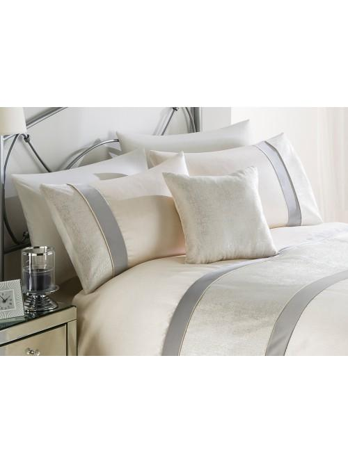 Metallic Velvet Bedding Collection Cream