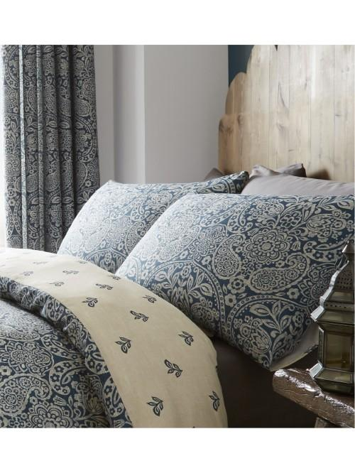 Catherine Lansfield Moroccan Paisley Bedding Collection Petrol