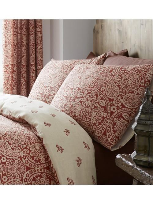 Catherine Lansfield Moroccan Paisley Bedding Collection Spice