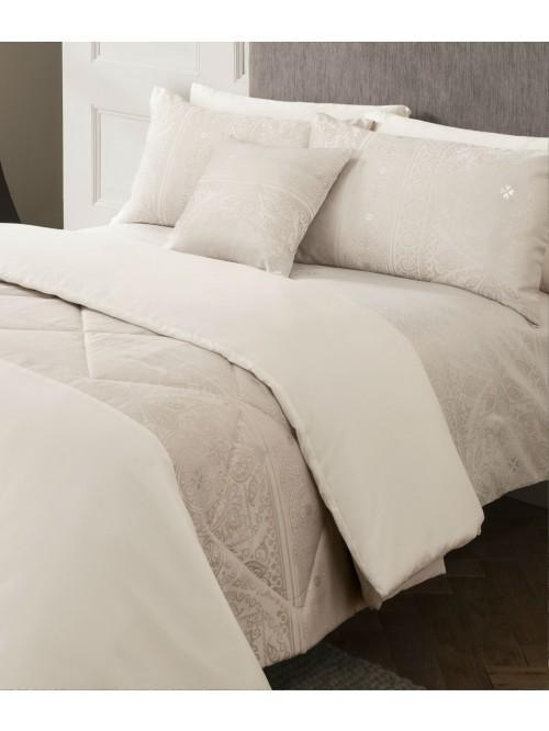 Moroccan Jacquard Bedding Collection Pink