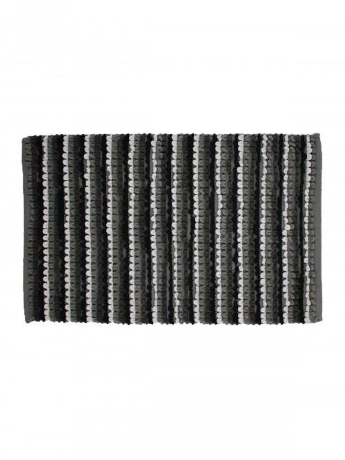 Multi Stripe Bathmat Grey
