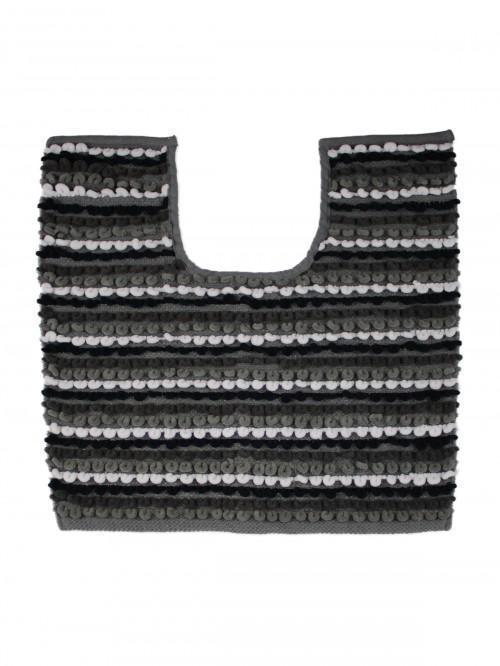Multi Stripe Pedestal Grey