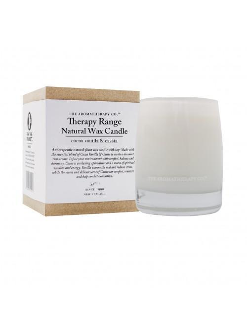 260g Natural Wax Candle Cocoa, Vanilla & Cassia