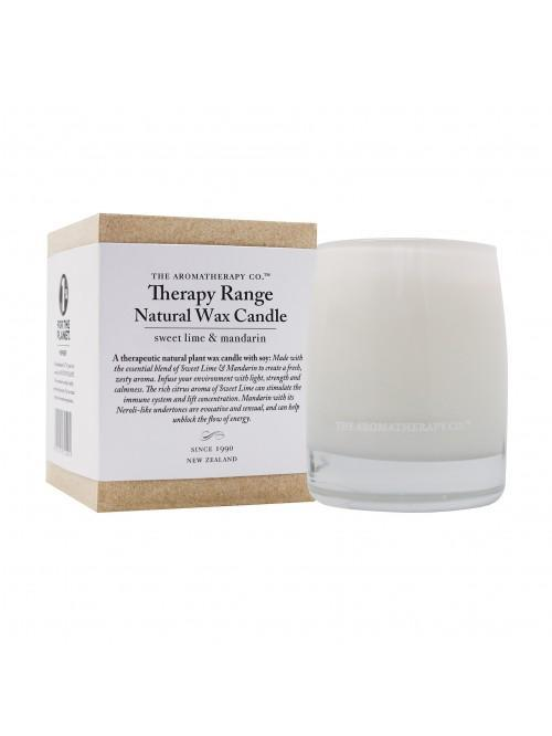 260g Natural Wax Candle Sweet Lime & Mandarin