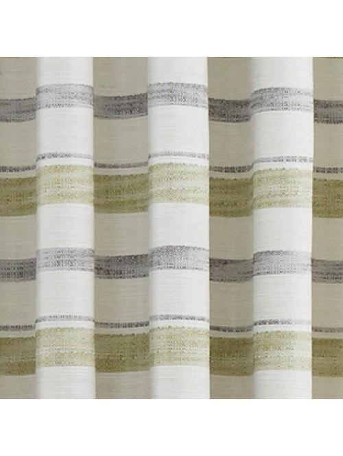 New Haven Eyelet Curtains Green