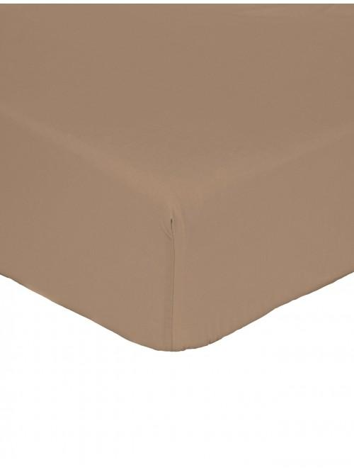Non Iron Fitted Sheet Espresso