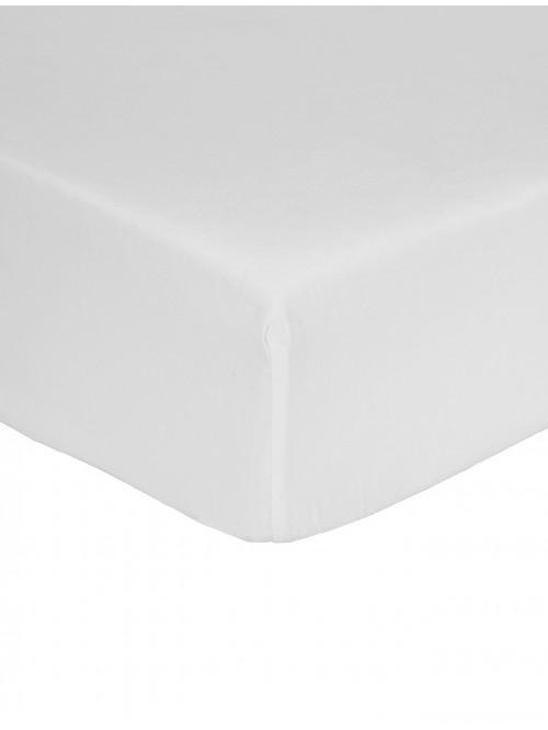 Non Iron Box Pleat Platform Valance White
