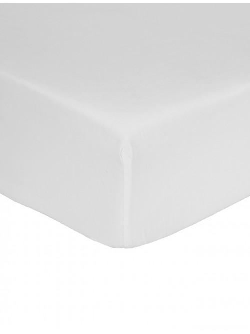 Non Iron Fitted Sheet White