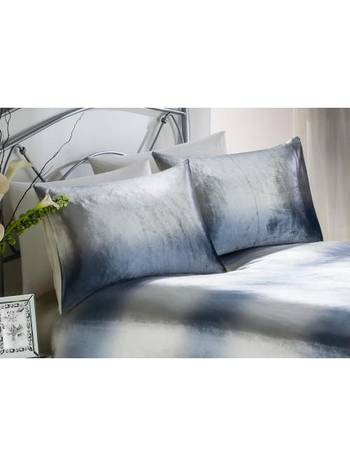 Ombre Velvet Bedding Collection Silver
