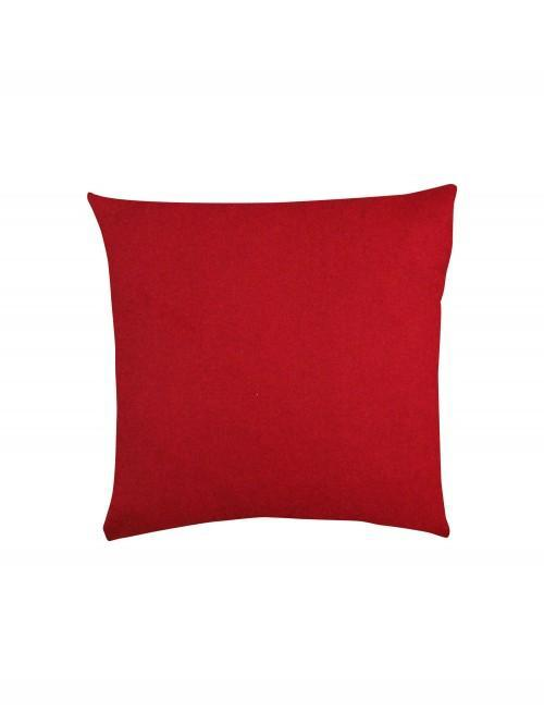 Patchwork Dog Cushion Red