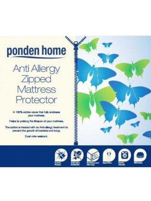 Anti Allergy Zipped Mattress Protection Range