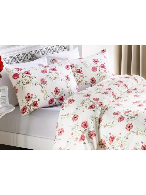 Poppy Garden Printed Bedding Collection Red