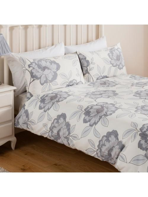 Grey Poppy Bedding Collection Grey