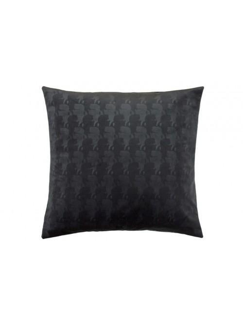 Karl Lagerfeld Profile Square Pillowcase Pair Black