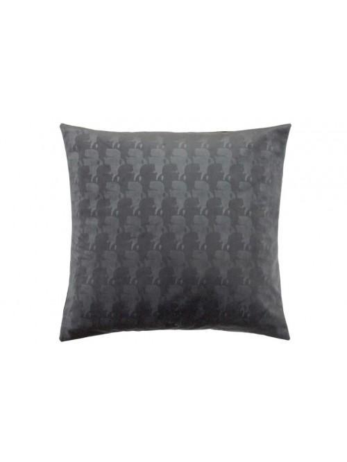 Karl Lagerfeld Profile Square Pillowcase Pair Grey