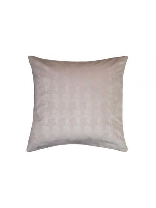 Karl Lagerfeld Profile Square Pillowcase Pair Nude