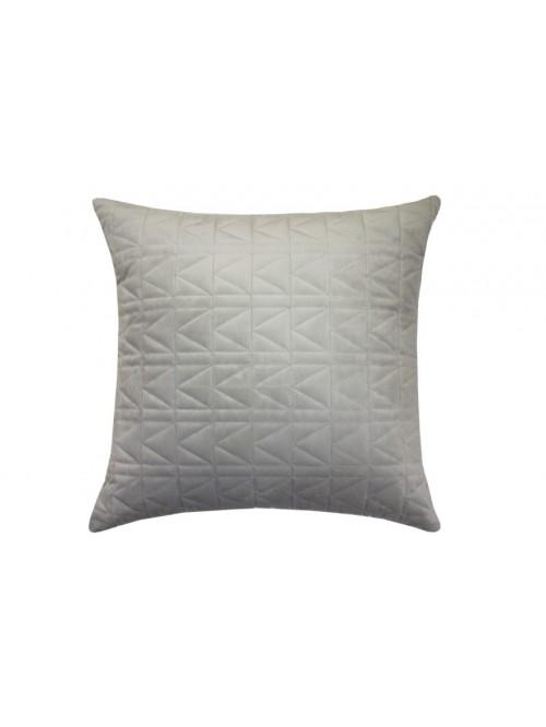 Karl Lagerfeld Quilted K Cushion Dove