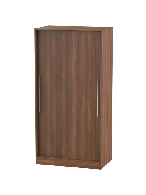 Madison Sliding Wardrobe Noche Walnut