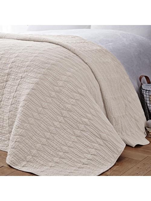Bianca Simplicity Bedspread Cream