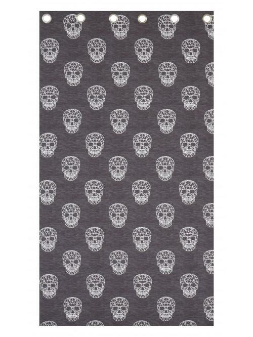 Catherine Lansfield Skulls Bedding Collection Grey