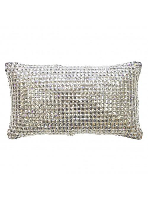 Kylie Minogue Square Diamond Cushion Silver