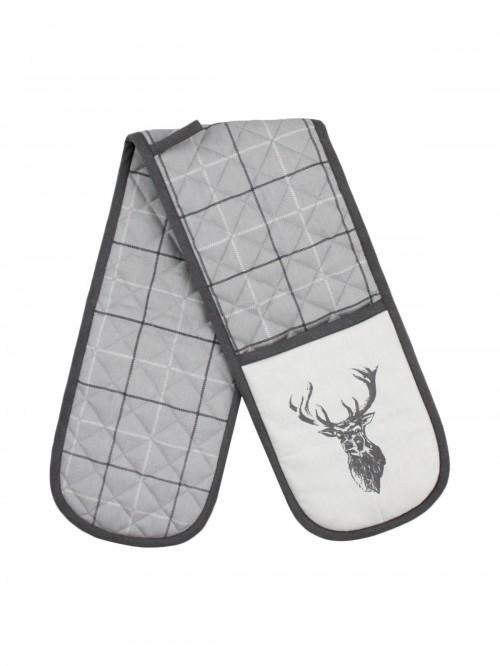 Stag Double Oven Glove Natural