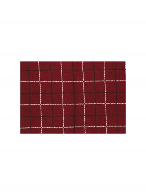 Stag Printed Placemat Red