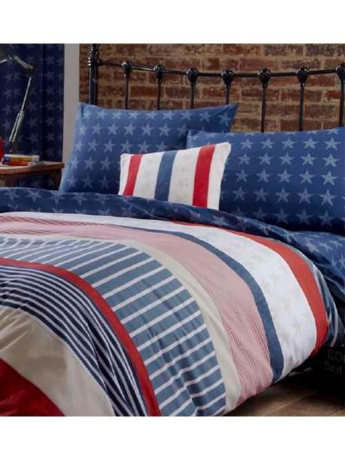 Catherine Lansfield Stars and Stripes Bedding Collection Multi