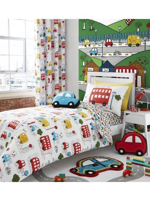 Catherine Lansfield Transport Bedding Collection Multi