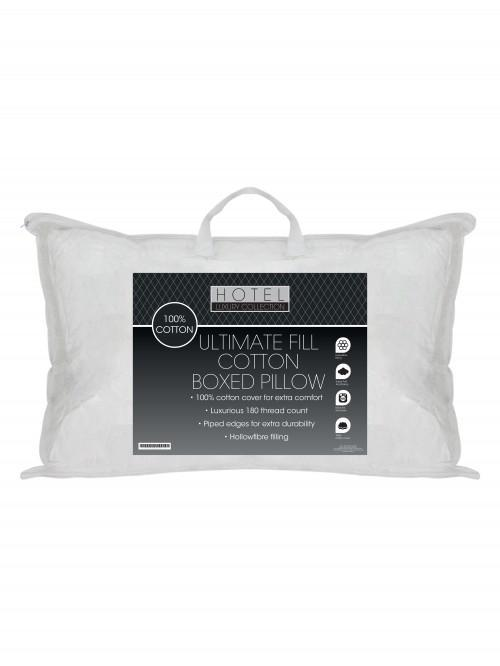 Ultimate Fill 100% Cotton Percale Boxed Pillow