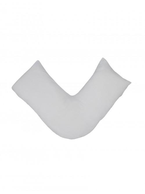 Luxury Percale 200 Thread Count V Shape Pillowcase White