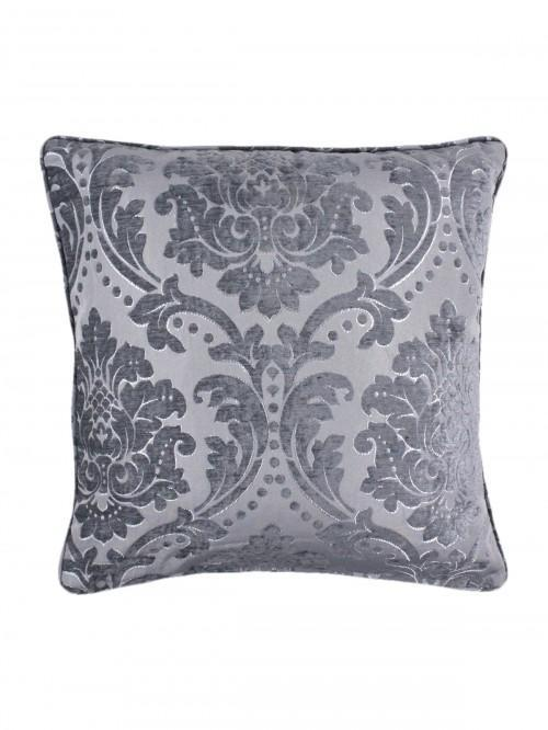 Hotel Collection Valencia Feather Filled Cushion Silver