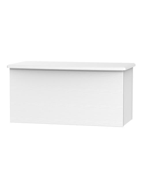 Lincoln Blanket Box White Ash