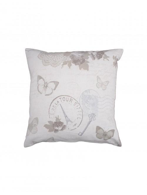 Victorian Diary Cushion Cream