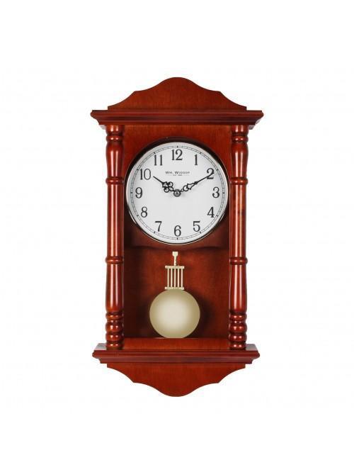 Quartz Westminster Wooden Pendulum Wall Clock Arabic Dial
