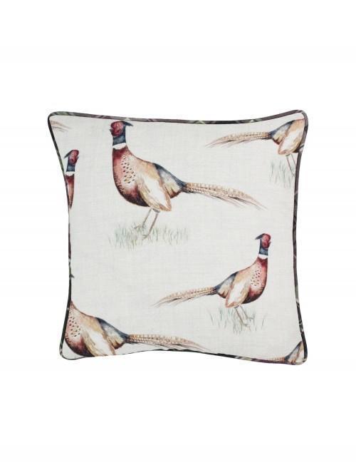 Watercolour Pheasant Cushion