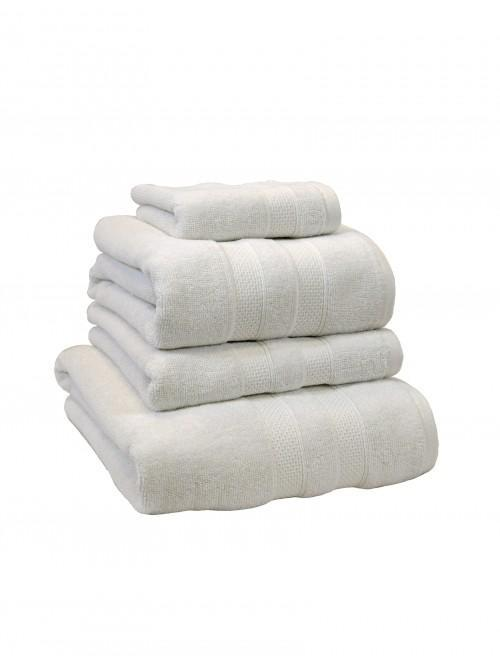 100% Cotton Egyptian Towels White