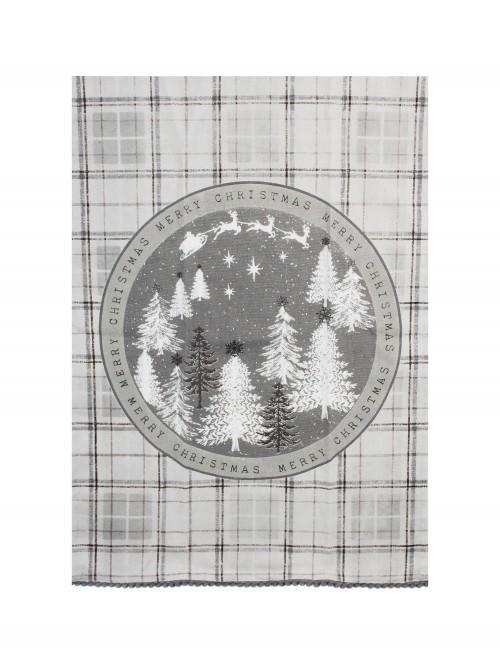 Winter Wonderland Teatowel Grey