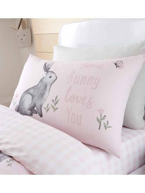 Catherine Lansfield Woodland Friends Bedding Collection Pink