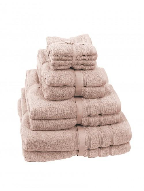 Hotel Collection Zero Twist Towels Blush