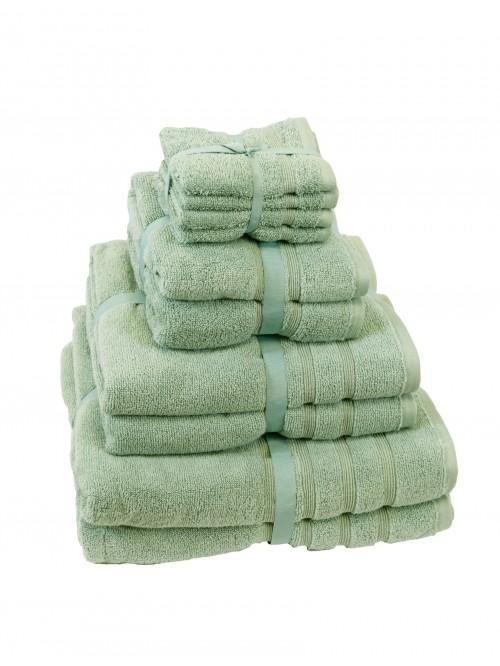 Hotel Collection Zero Twist Towels Duck Egg