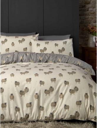 Double Super King Nellie Pink Elephant Duvet Cover & Pillow Cases Single King