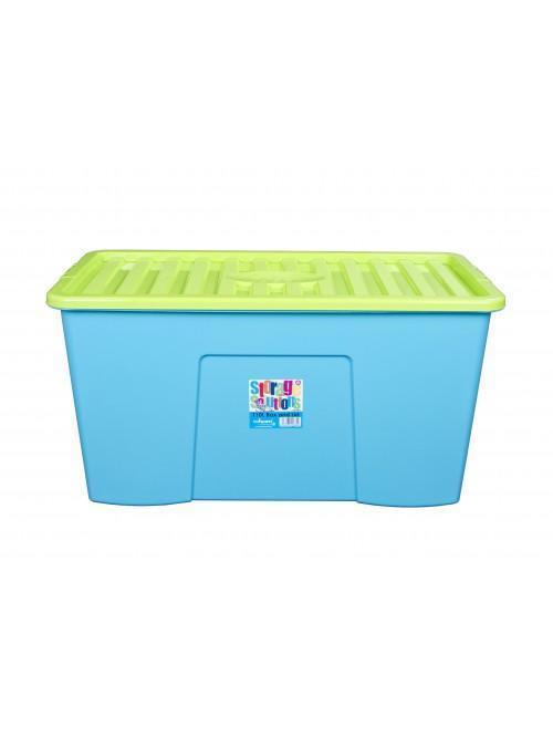 Wham® 110L Box & Lid x3 Lime