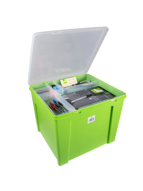 Wham® Home Office Box with Suspension Files Lime